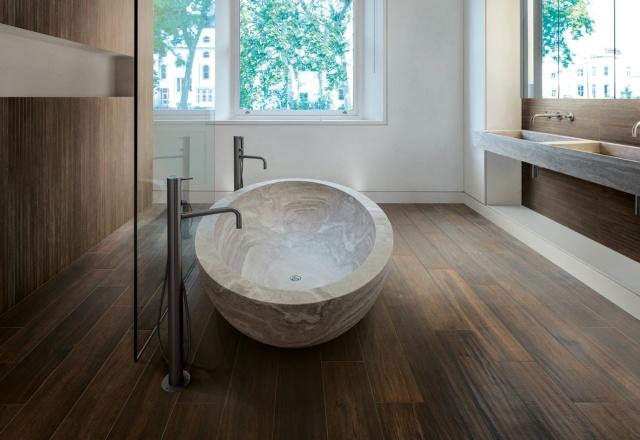 revetement sol salle de bain